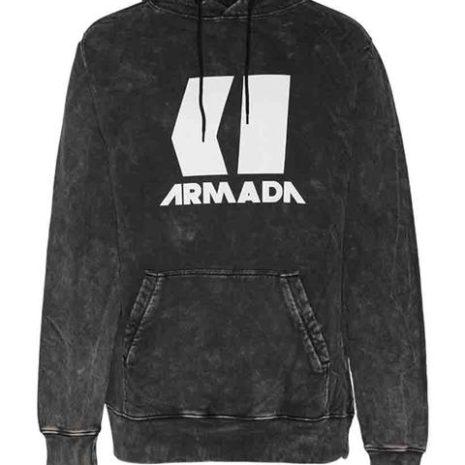 Armada Icon Hoodie Black Enzyme huppari