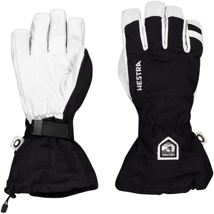 Hestra Heli Ski Black 5 finger