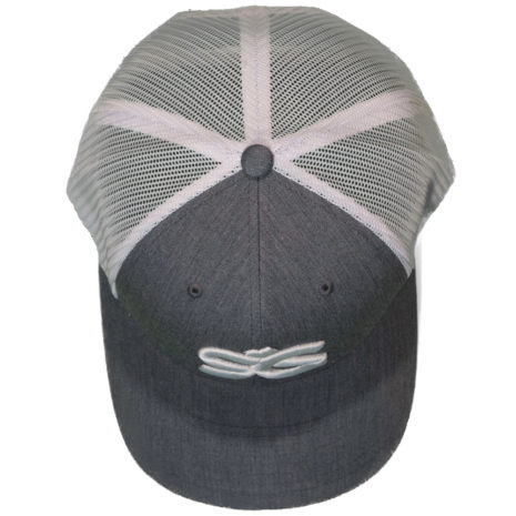 SKIGARAGE TRUCKER CAP GRAY/WHITE 1
