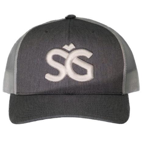 SKIGARAGE TRUCKER CAP GRAY/WHITE