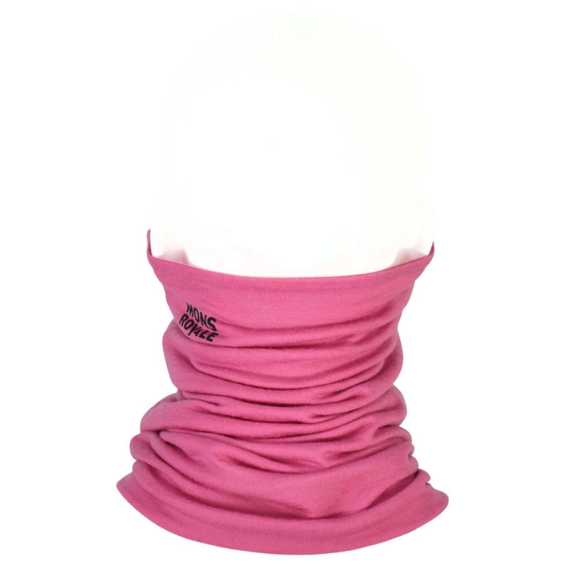 MONS ROYALE DOUBLE UP NECKWARMER PINK