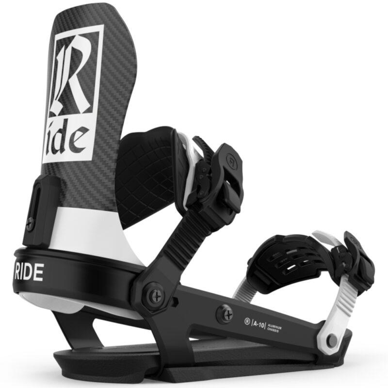 Ride A-10 Black 2021 lumilautasiteet