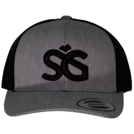 SKIGARAGE TRUCKER CAP GRAY/BLACK