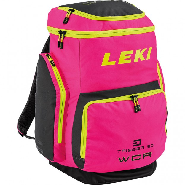 Leki WCR 85L Boot bag Race Pink