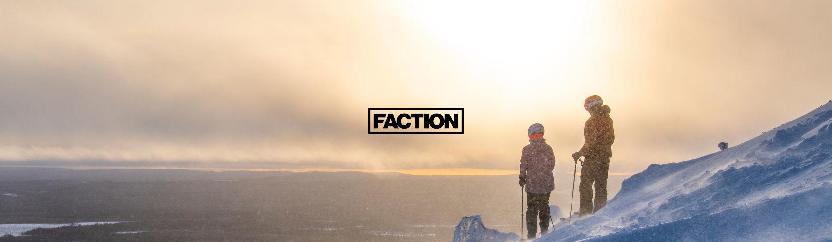 Faction Skis brand logo