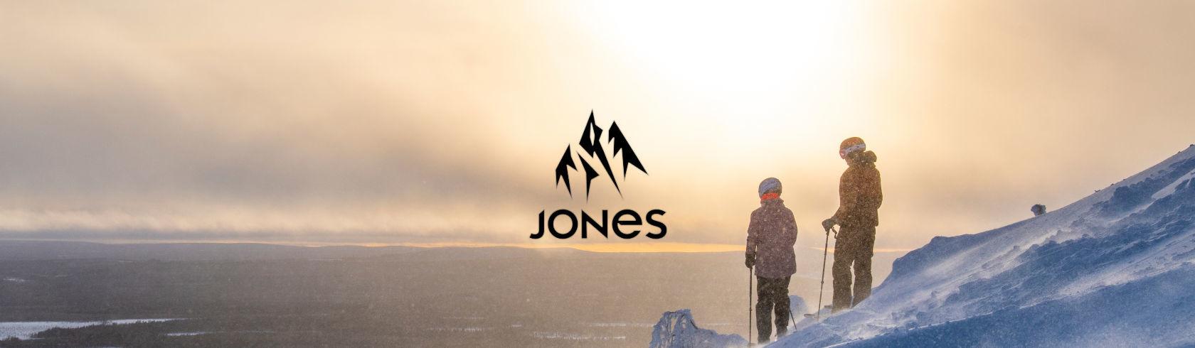 Jones Snowboards brand logo