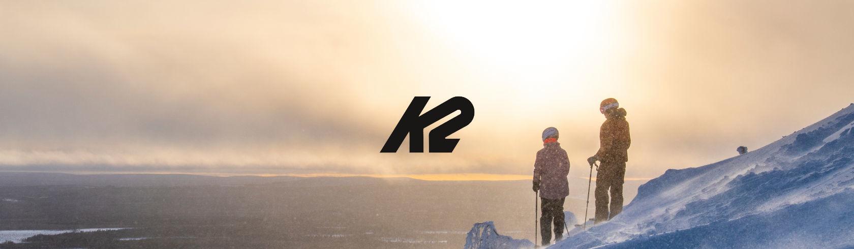 K2 skis & snowboards brand logo