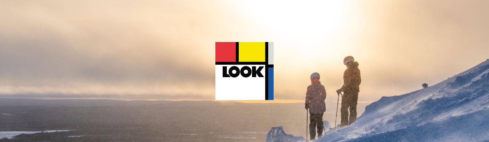 Look Bindings brand logo