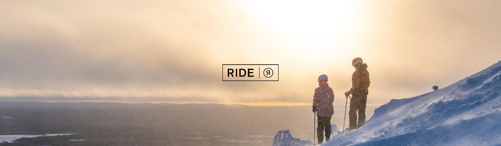Ride Snowboards brand logo