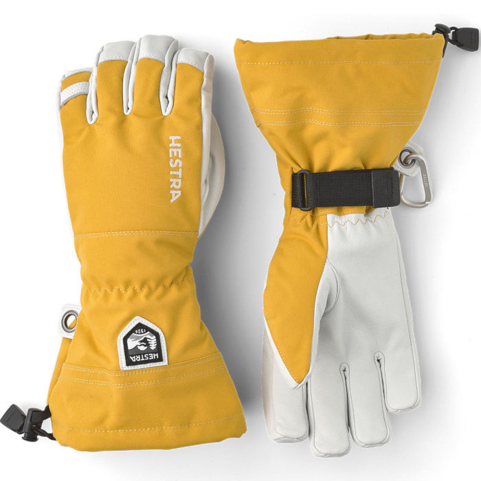 Hestra Heli Ski Yellow 5 finger
